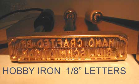 Branding Irons By Engraving Arts
